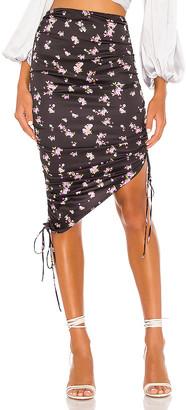 For Love & Lemons Laramie Midi Skirt