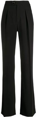 Chloé Pleated Wide Leg Trousers