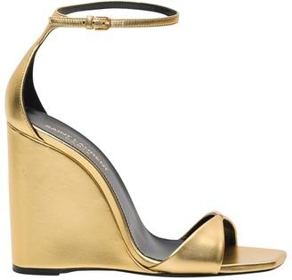 Saint Laurent Kim & Dare Gold-tone Leather