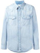 Visvim front pockets denim shirt - men - Cotton - 2