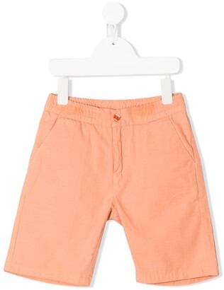 Knot Mark chino shorts