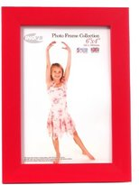 Inov-8 Inov8 British Made Traditional Picture/Photo Frame, Regal Red, 6x4 Inch
