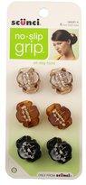 Scunci No Slip Octopus Jaw Clips, 6 ct, Mini, 2.5 cm