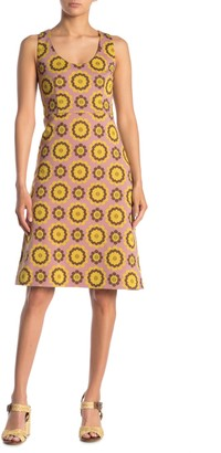 Kate Spade Geo Foral Jacquard Shift Dress