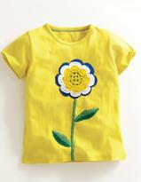 Boden Floral Crochet T-Shirt