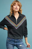 Wildfox Couture Track Star Quarter-Zip Pullover