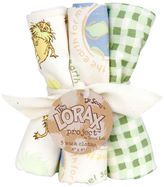 "Trend Lab Dr. Seuss ""The Lorax"" 5-pk. Washcloths by"