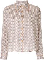 Caramel classic buttoned shirt