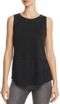 Generation Love Nolan Pleated-Hem Top
