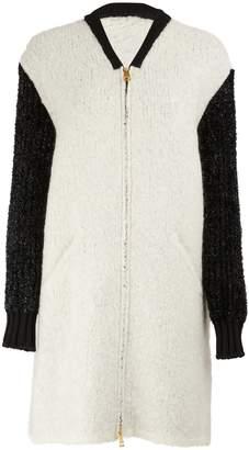 Lanvin Two-Tone Long Coat