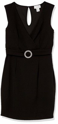 Forever 21 Women's Plus Size Belted Bodycon Mini Dress