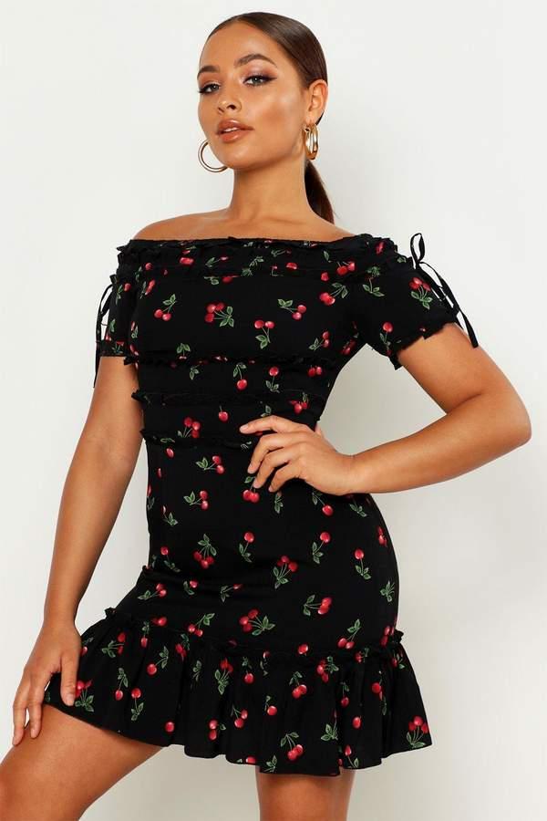 997d5b1a73 Cherry Print Dress Womens - ShopStyle UK