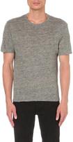 Sandro Filter linen-jersey t-shirt