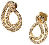 Nadri Lupita Pave Stud Earrings