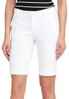 Lauren Ralph Lauren Solid Twill Shorts