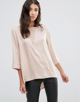 B.young Flow Blouse With Back Pleat
