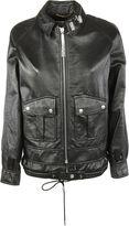 Saint Laurent Zip Leather Jacket