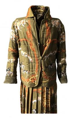 Hermes Khaki Cashmere Jackets