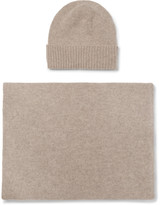 William Lockie - Cashmere Beanie And Scarf Set