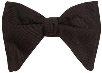 Gucci Silk-faille Bow Tie - Mens - Black