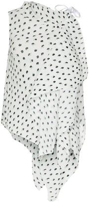 Roland Mouret Pasha printed blouse