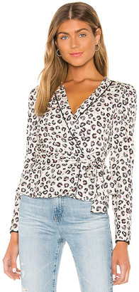 Bailey 44 Marguerite Mini Leopard Top