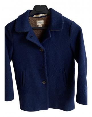 Bellerose Blue Wool Jackets & Coats