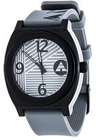 Airwalk Automatic Plastic and Silicone Casual Watch, Color:Grey (Model: AWW-5103-BK)