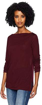 Three Dots Women's OL2715 Tencel Bateau tee