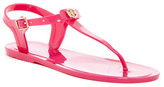 Nicole Miller Charm Jelly Sandal