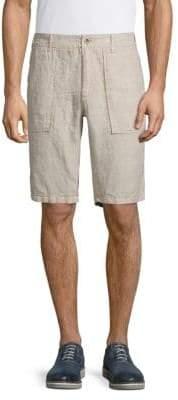 Jet Lag Classic Linen Shorts