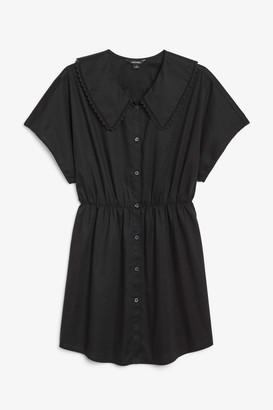 Monki Peter pan collar dress