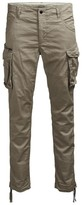 Jack and Jones Jjipaul Jjchop Stretch Cotton Cargo Trousers