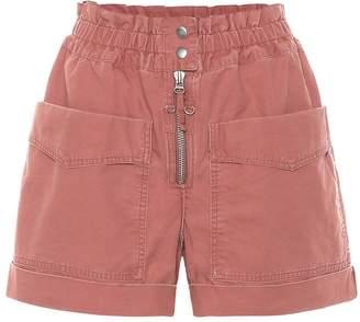 Etoile Isabel Marant Isabel Marant, étoile Lizy cotton-twill shorts