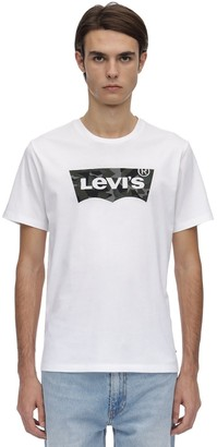 Levi's Housemark Graphic Cotton Jersey T-Shirt