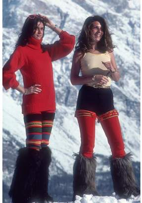 "Jonathan Adler Slim Aarons ""Winter Wear"" Photograph"