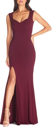 Dress the Population Monroe Side Slit Gown