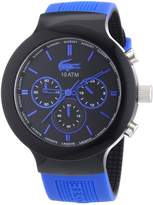 Lacoste Men's Borneo 2010654 Silicone Quartz Watch