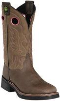 John Deere Womens Leather Cowboy Boots