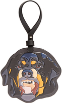 Givenchy Rottweiler leather key ring