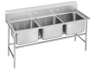 """Advance Tabco 940 Series 74"""" x 35"""" Free Standing Service Sink Advance Tabco"""