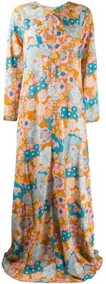 Dodo Bar Or Floral-Print Maxi Dress