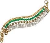 Lulu Frost Embellished multi-strand bracelet