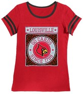 NCAA Louisville Cardinals Girls Foil T-Shirt