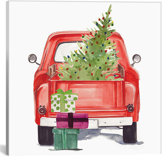iCanvas Christmas Cars Iii By Jennifer Paxton Parker