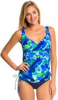 Penbrooke Whirlpool VNeck Adjustable Side Tankini Top - 8136146