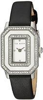 Ted Baker Women's 10023479 Glam Analog Display Japanese Quartz Black Watch