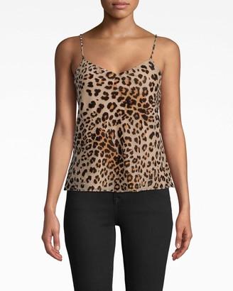 Nicole Miller Leopard Burnout Cami