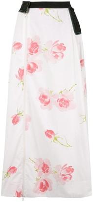 Marine Serre Floral Print Skirt