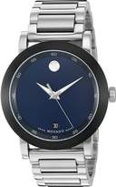 Movado Men's 0607004 Swiss Quartz Stainless Steel Automatic Watch